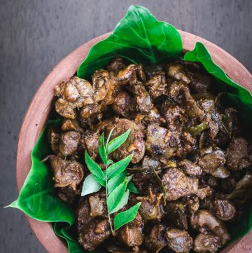 Chicken Offal Fry (with Garlic and Chilli) - thespiceadventuress.com