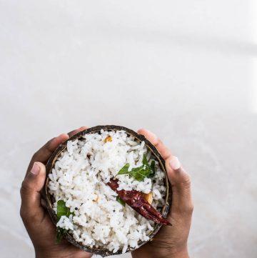Coconut Rice - thespiceadventuress.com