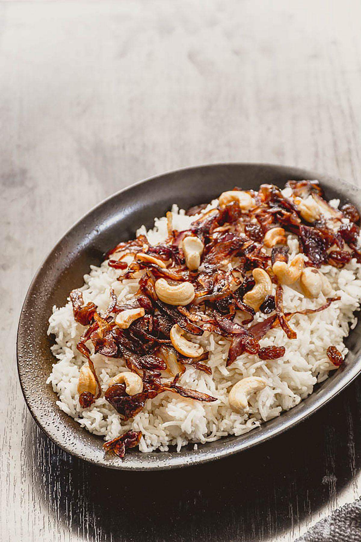 Ghee rice - thespiceadventuress.com