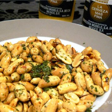 Peanut Salad with Curry Leaf Dressing -thespiceadventuress.com