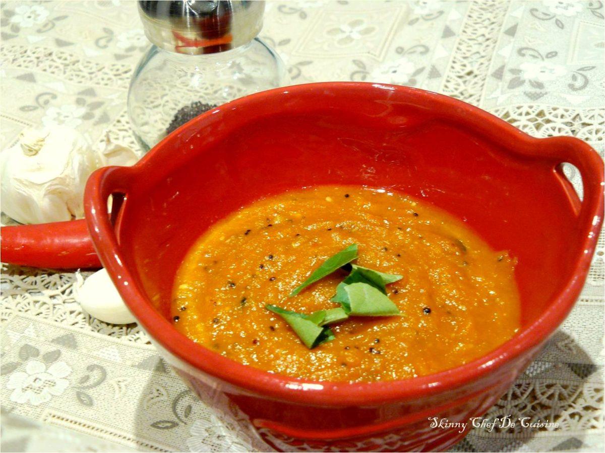 velluli karam pachadi (spicy garlic chutney)