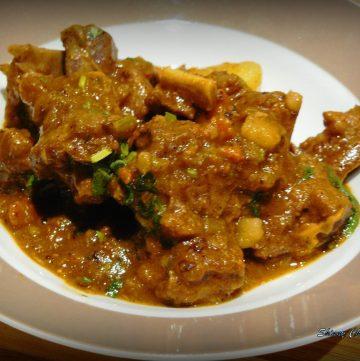 Lamb stew with veggies - thespiceadventuress.com