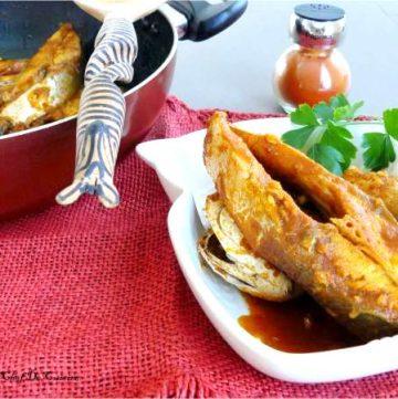 Chreime (North African Fish Stew) - thespiceadventuress.com