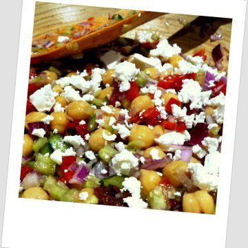 Meditteranean Chickpea Salad + my new kitchen appliance - thespiceadventuress.com