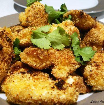 Semolina Peri-Peri Chicken Nuggets - thespiceadventuress.com