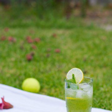Lemon mint cooler - a refreshing summer drink - thespiceadventuress.com