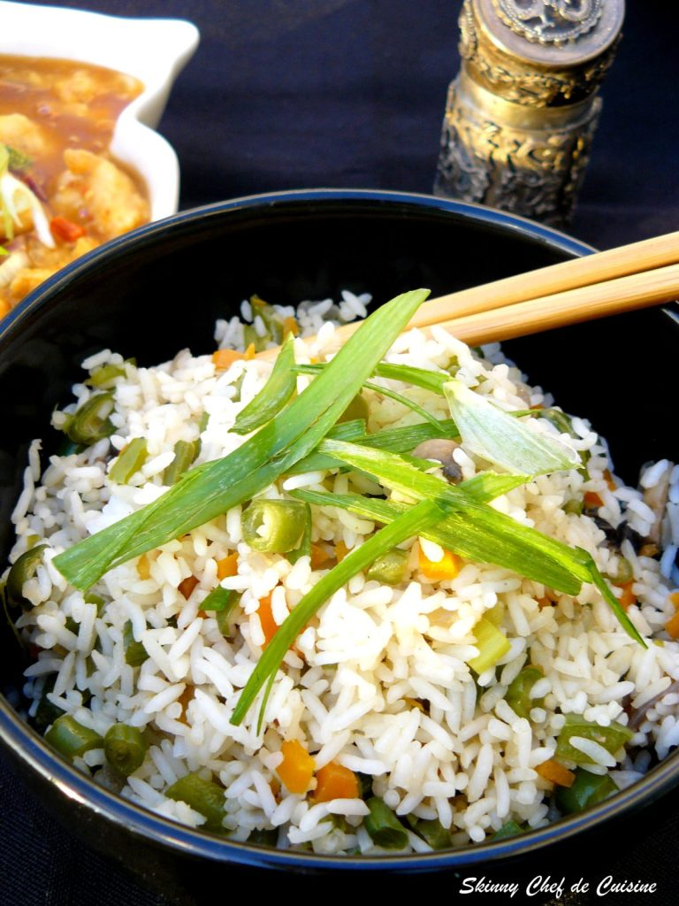Mixed Vegetable Fried Rice - thespiceadventuress.com