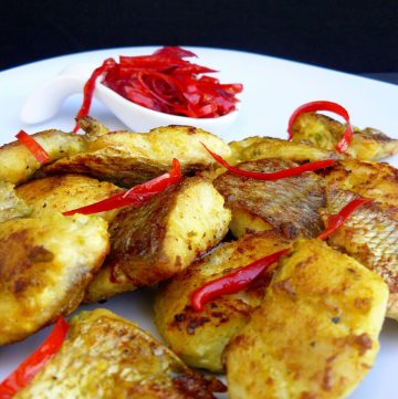Masala Fried Fish with Chilli Jam - thespiceadventuress.com