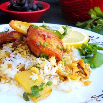 Sayadiah (Arabian Fish with Rice) - thespiceadventuress.com