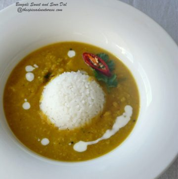 Bengali Sweet and Sour Dal - thespiceadventuress.com