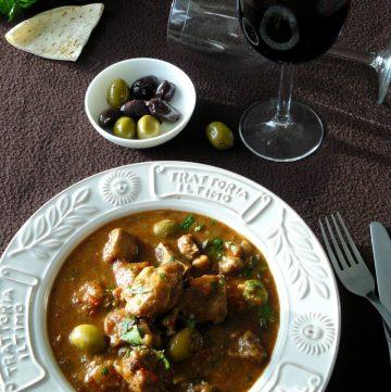 Italian Lamb Stew in Red Wine - thespiceadventuress.com