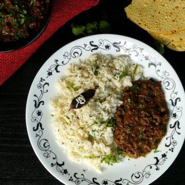 Adzuki Beans Curry with Kadai Spice Blend - thespiceadventuress.com