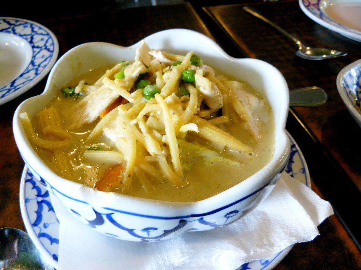 Thai Green curry (Chicken)