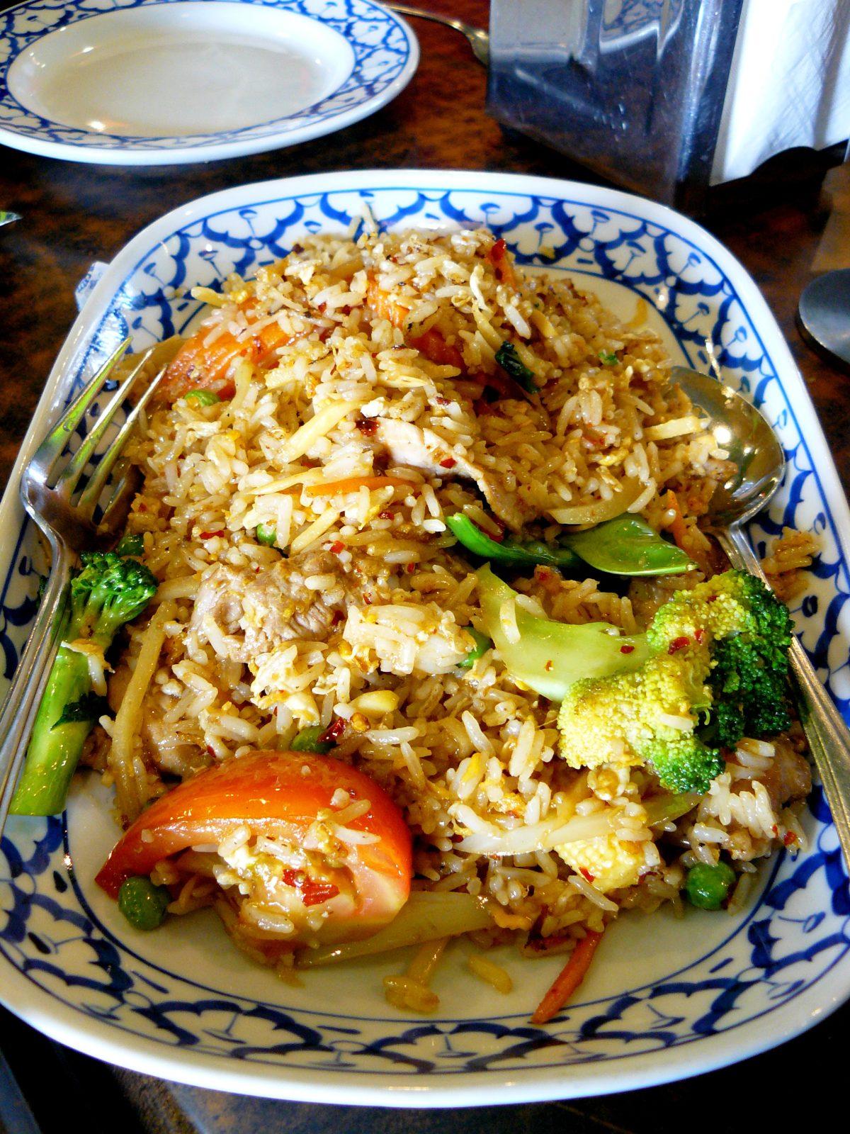 Thai fried rice (Beef)