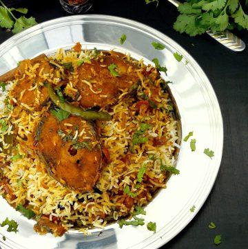 Goan Fish Biryani - thespiceadventuress.com