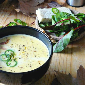 Beer and Cheddar Soup - thespiceadventuress.com