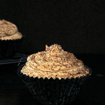Chocolate Cupcakes with Nutella Buttercream - the way to your children's heart - thespiceadventuress.com
