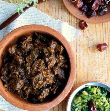 Uppu Kari (Chettinad Mutton Fry) - thespiceadventuress.com