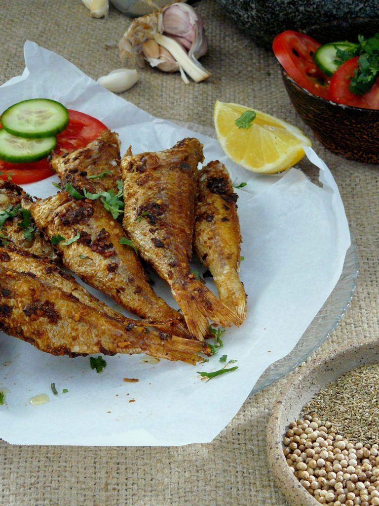 Lahori Fish Fry - thespiceadventuress.com