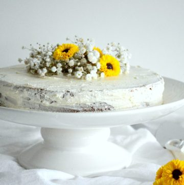 Lemon Cake - thespiceadventuress.com