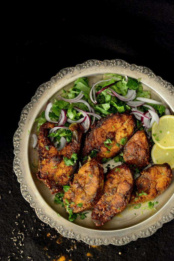 East Indian Fish Fry - thespiceadventuress.com