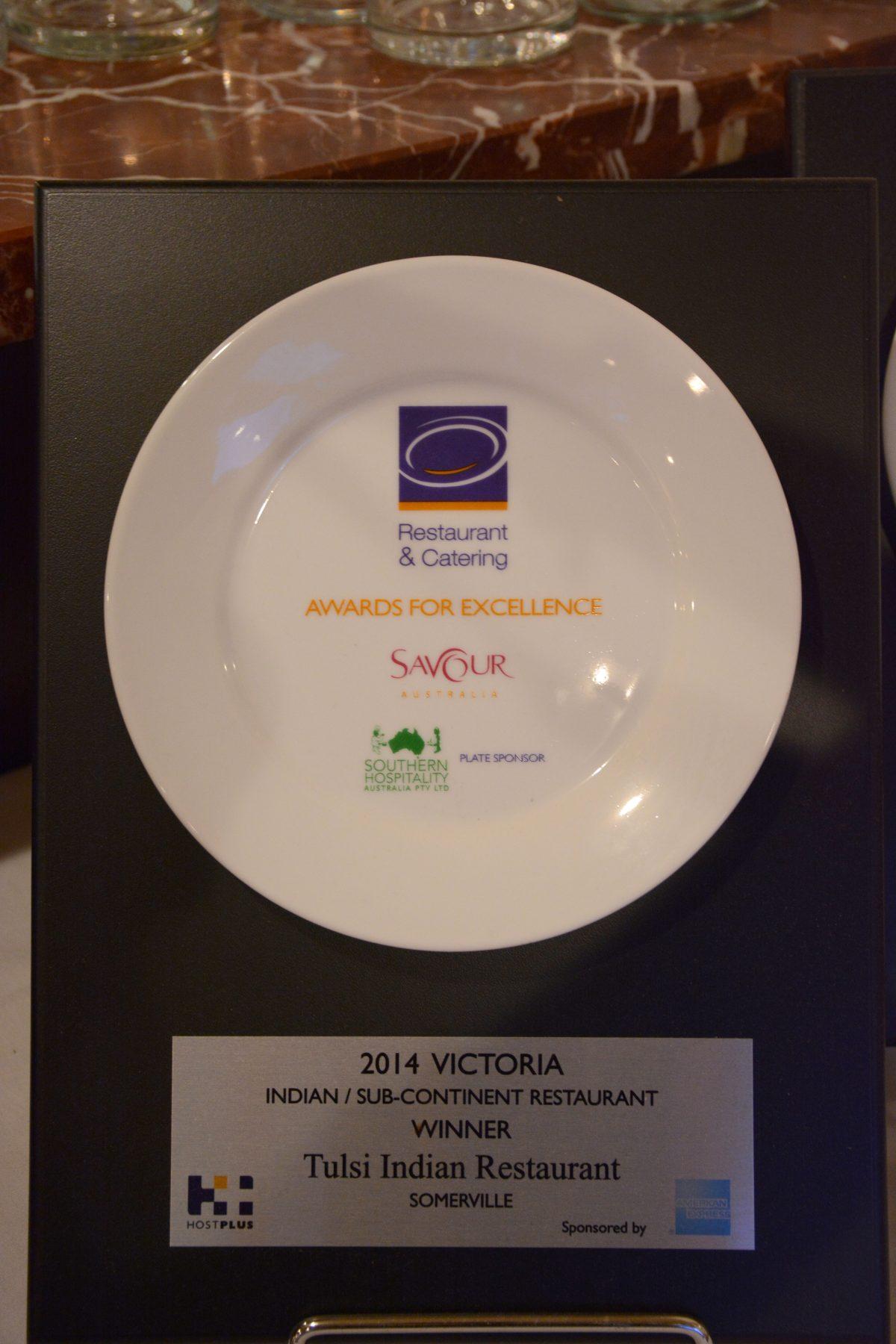 One among the many awards won by Tulsi!