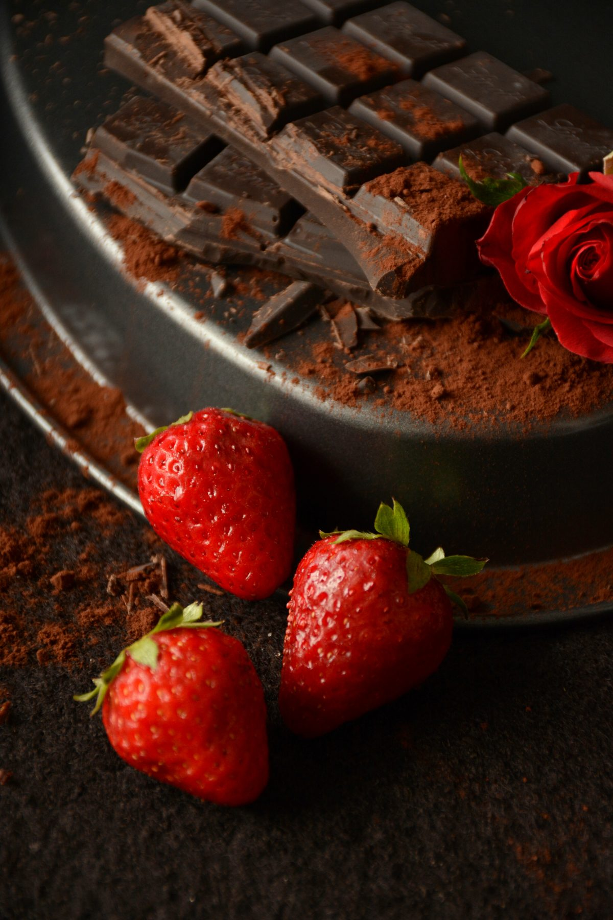 Chocolates and Red Roses - Food Photography - thespiceadventuress.com