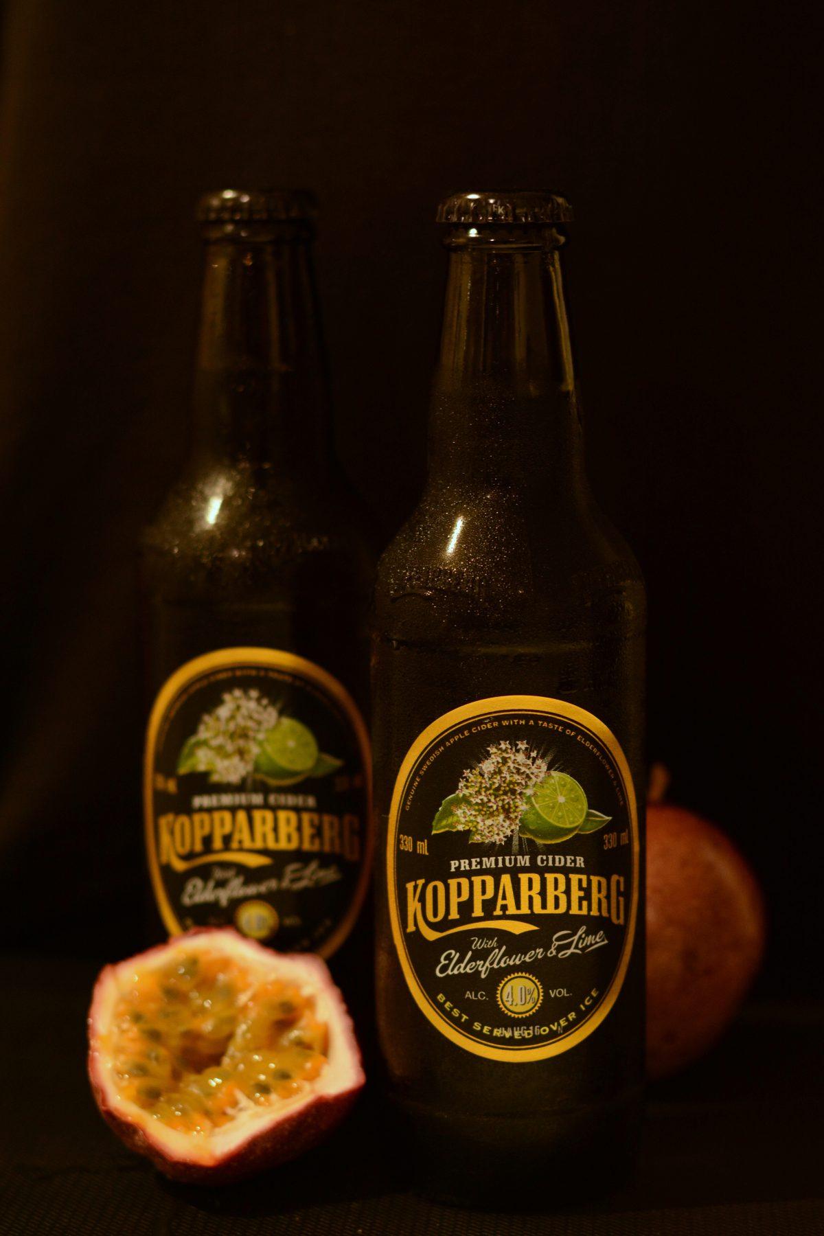 Kopparberg Elderflower & Lime Cider - a premium cider from Sweden - thespiceadventuress.com