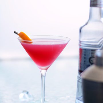 The 'Indian' Cosmopolitan – a Rooh Afza Cocktail! - thespiceadventuress.com