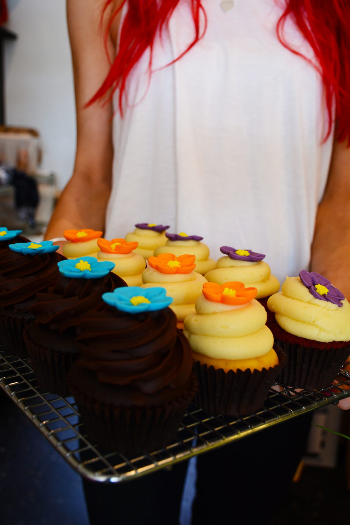 Gorgeous cupcakes at The Foodrinkery, Burwood (Melbourne) – a Review - thespiceadventuress.com