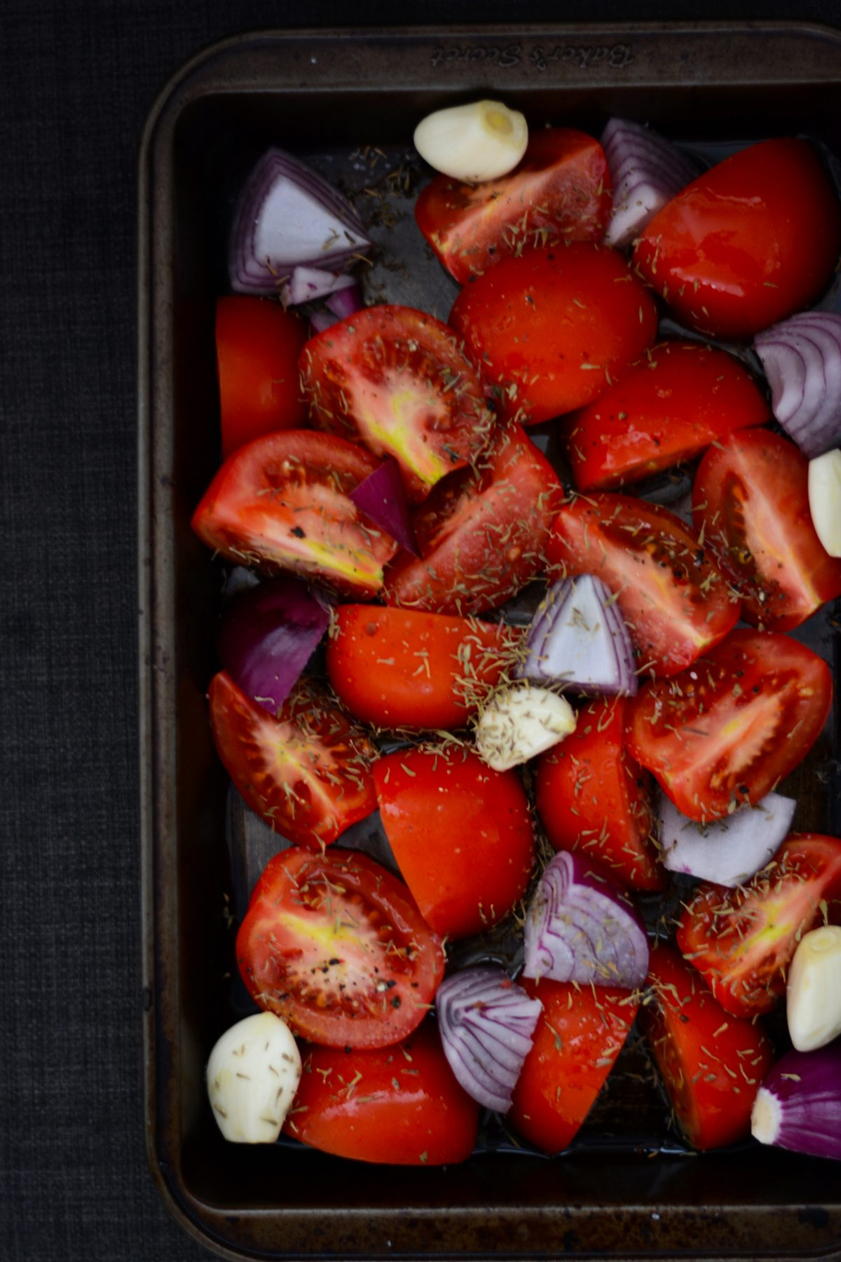 Roasting vegetables - food photography - thespiceadventuress.com