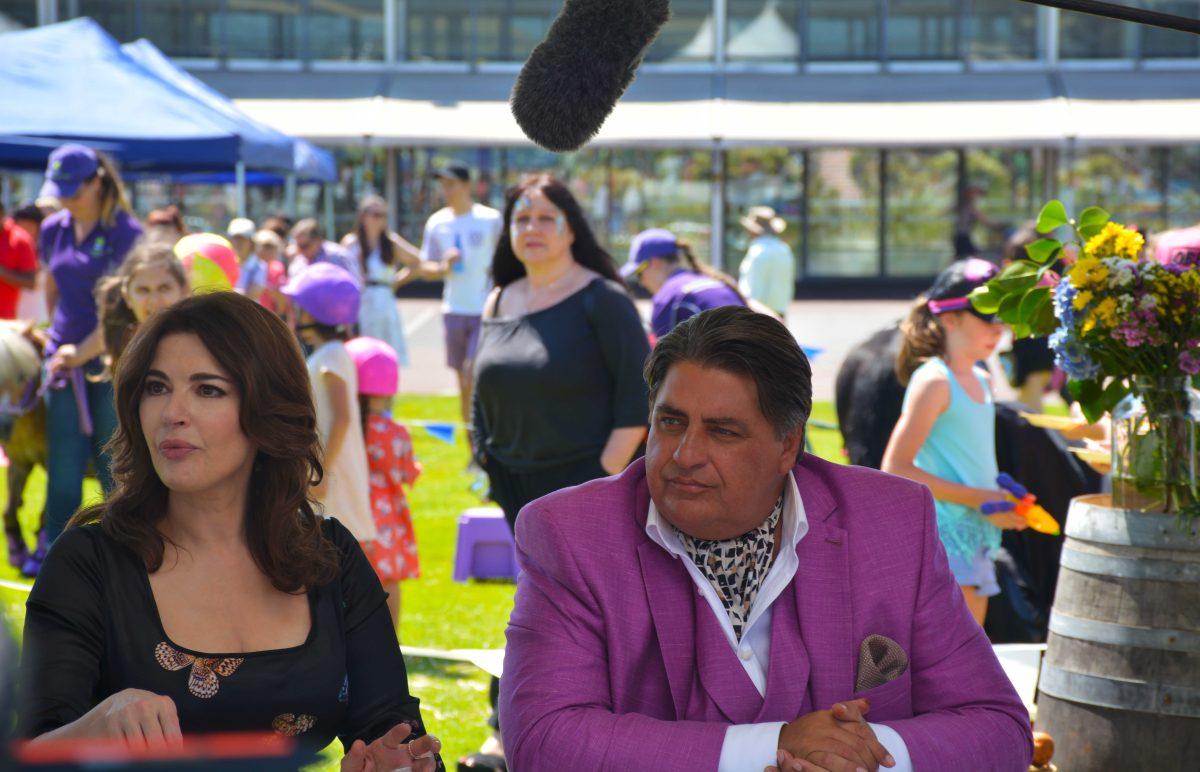 At the shooting of Masterchef Australia Season 8 with Matt Preston and Nigella Lawson - thespiceadventuress.com