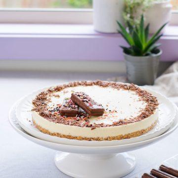 Tim Tam Vanilla Icecream Cake - a super simple and delicious summer dessert - thespiceadventuress.com