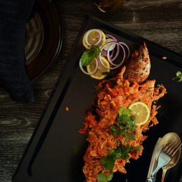Filipino style Grilled Barramundi - an Indian interpretation of a traditional Filipino dish - thespiceadventuress.com