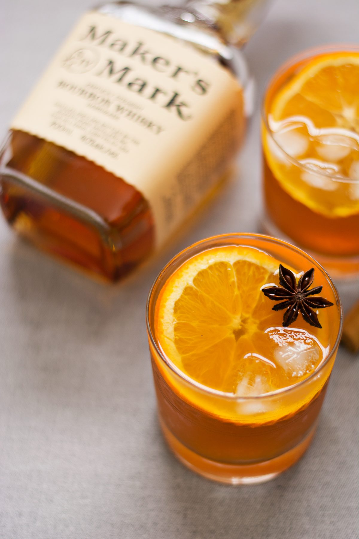 Citrusy Sweet Tea Cocktail - thespiceadventuress.com