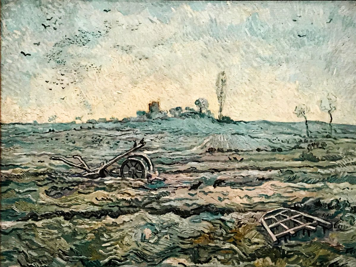 Van Gogh and the Seasons Exhibition - thespiceadventuress.com