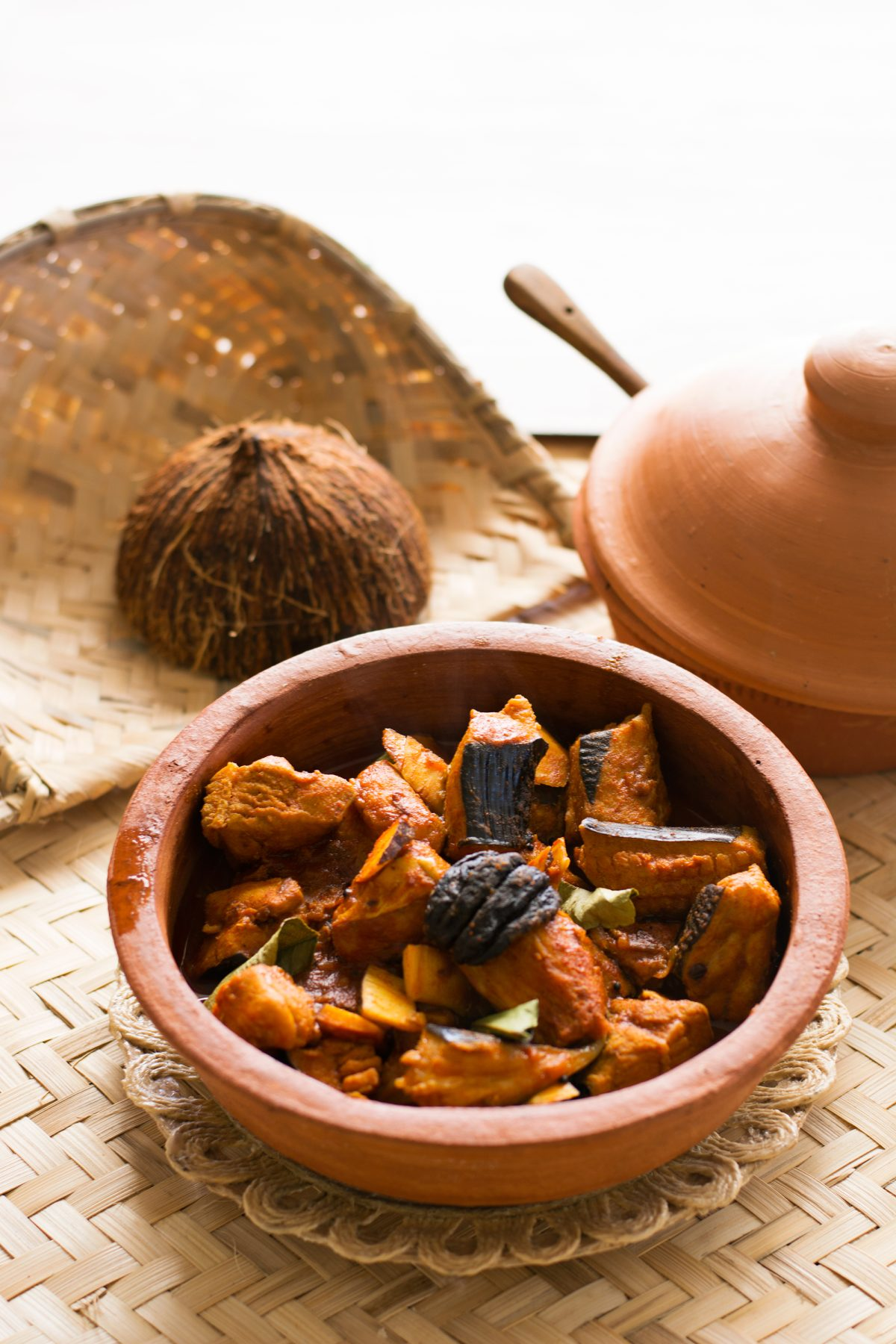 Kerala style Stingray Curry - thespiceadventuress.com