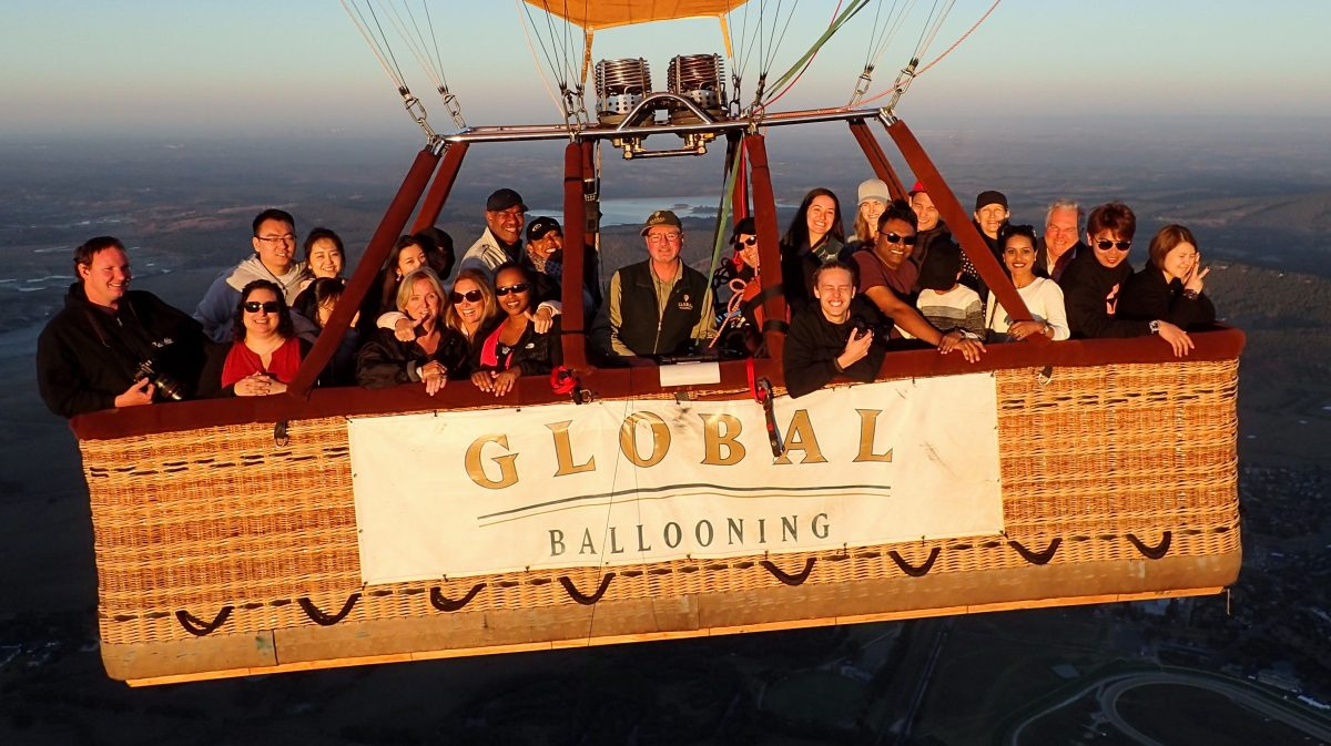 Up in the Air! (A Hot Air Ballooning Experience with Global Ballooning Australia) - thespiceadventuress.com