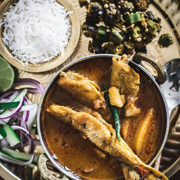 Bengali style Fish Curry with Whiting/Lady Fish - thespiceadventuress.com