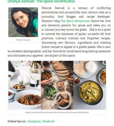 Top 30 Indian Food Photographers, 2018 - thespiceadventuress.com