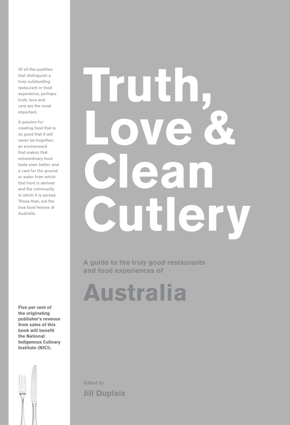 Truth, Love & Clean Cutlery - a Book Review - thespiceadventuress.com