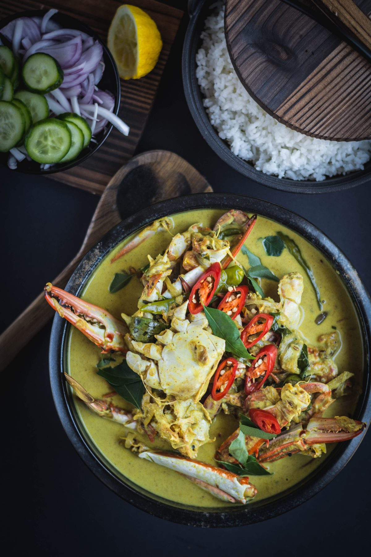 Fiji style Crab Curry - thespiceadventuress.com
