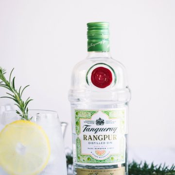 Tanqueray Gin & Tonic (with Rosemary) - thespiceadventuress.com
