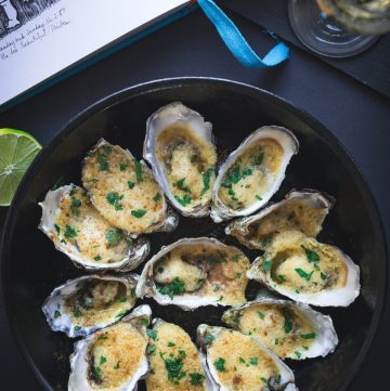 Mirka & Georges – A Culinary Affair by Lesley Harding and Kendrah Morgan (+ a recipe for Oysters roasted with Almonds and Butter) - thespiceadventuress.com
