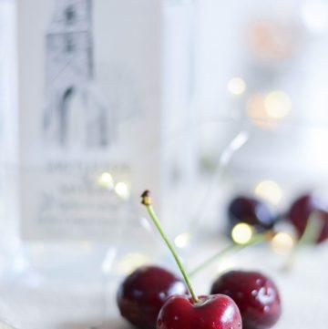 Cherry Gin Spritzer - thespiceadventuress.com