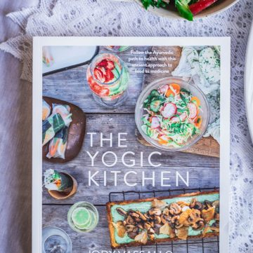 The Yogic Kitchen – Jody Vassallo (+ a Recipe for Marinated Chicken with Coconut Lime dressing) - thespiceadventuress.com