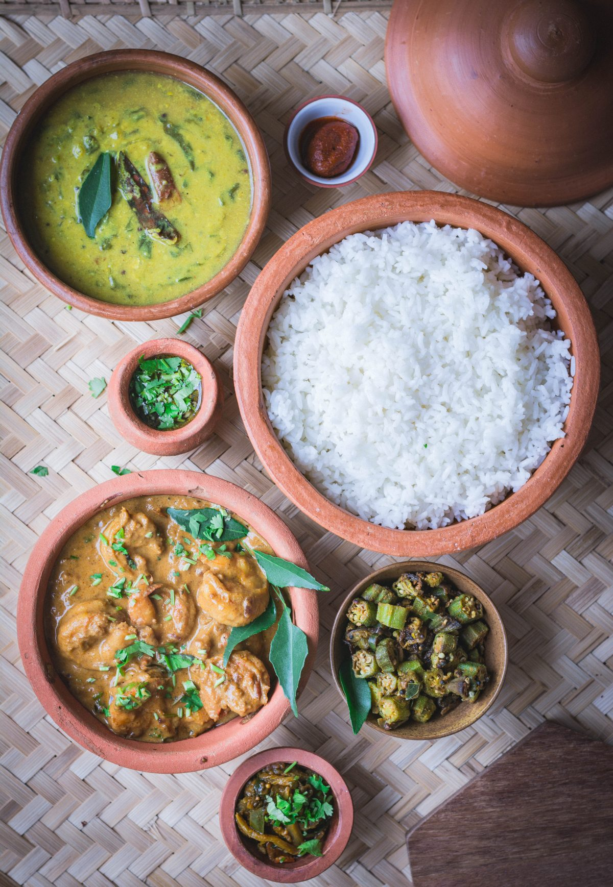 Marathi style Prawns Curry - thespiceadventuress.com