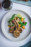 Lamb Chops with Roasted Garlic Marinade - thespiceadventuress.com