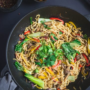Duck Noodles with Ginger and Shitake - thespiceadventuress.com
