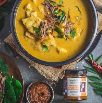 Keralan Fish Curry (with Latasha's Kitchen Seafood Curry Paste Concentrate) - thespiceadventuress.com